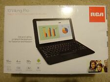 RCA Viking Pro 10 - Quad Core Android 6.0 Tablet With Keyboard - Brand New!