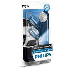HONDA ACCORD ESTATE 2005-2013 PHILIPS White Vision W5W/T10 5W Parking Lights