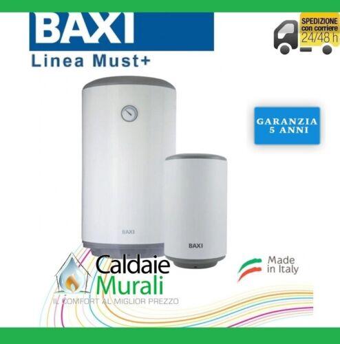 SCALDABAGNO ELETTRICO BAXI LINEA MUST 50//5 V550 VERTICALE