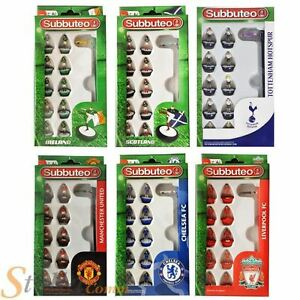 Subbuteo Team Sets - Brand New Boxed Football Game Figures Paul Lamond