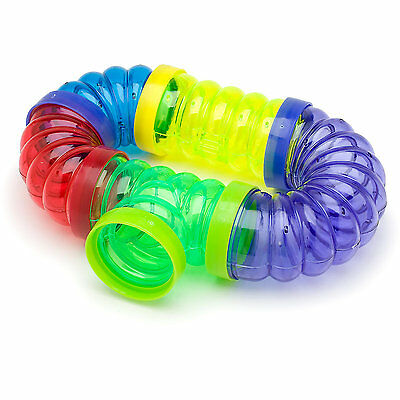 Super Pet Crittertrail Fun-Nels Twist And Turn Tubes 5 pk Free Shipping
