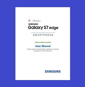 samsung galaxy s7 edge user manual for t mobile model sm g935t rh ebay com t mobile revvl owners manual Is T-Mobile GSM