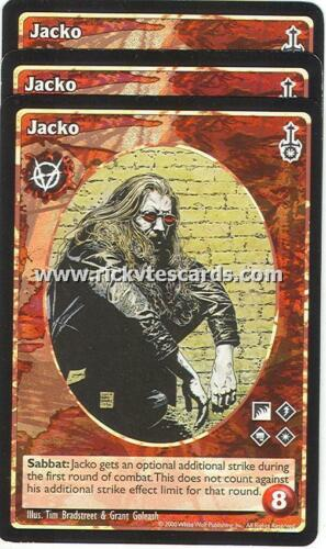 Jacko x3 Brujah antitribu SW