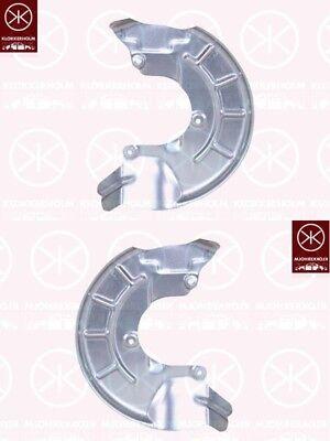 01-12 Spritzblech Bremsstaubblech Ankerblech Satz vorne VW Polo 9N Bj