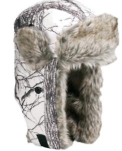 1da3645232679 Image is loading Huntworth-Insulated-Snow-Camo-Trapper-Hat