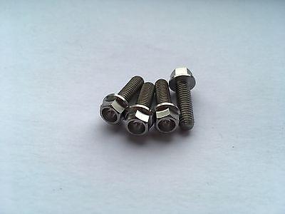 4 x Aprilia RS 125 Titanium Cylinder Stud s RS125 2006 2007 2008 2009 1999-2010