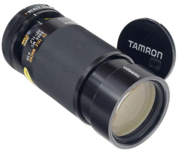Enthousiaste Tamron 80-210 Mm 3.8-4 + Macro 1:4 (03 A) Adaptall Ii Un Style Actuel