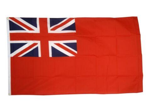 La Grande-Bretagne RED ENSIGN commerce Drapeau Hissflagge britanniques drapeaux drapeaux 150x