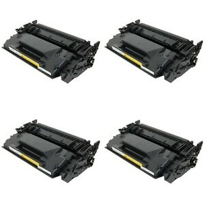 4-Pack-Black-Toner-Cartridge-For-HP-LaserJet-Pro-M402n-M402dw-M402dn-26A-CF226A