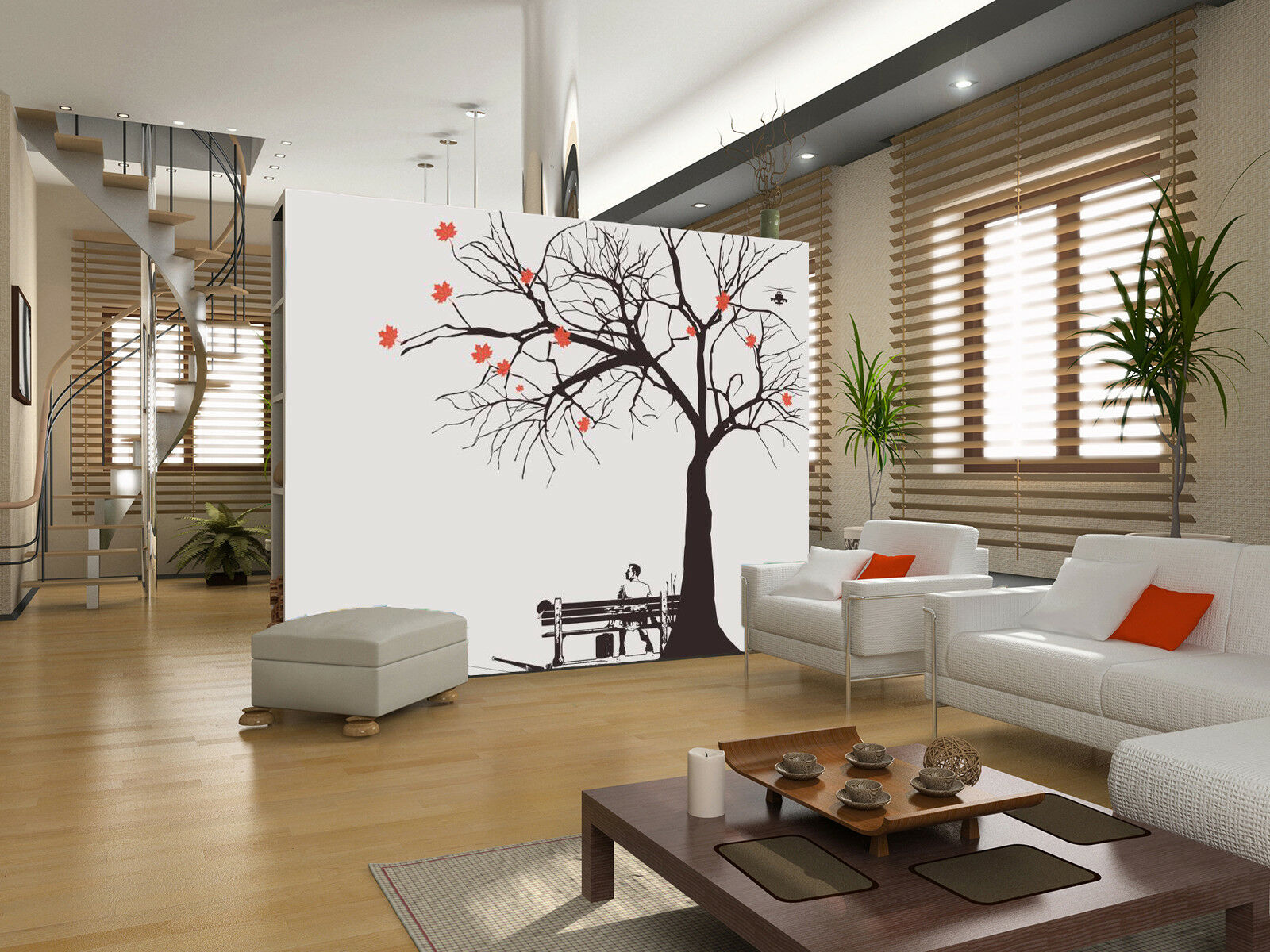 3D Lonely Person 77 Wall Paper Murals Wall Print Wall Wallpaper Mural AU Carly