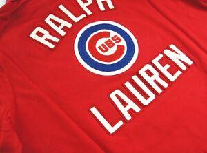POLO RALPH LAUREN Mens MLB Collection Cubs Bear Fleece