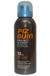 Piz-BUIN-SUN-MOUSSE-rinfrescante-proteggere-e-COOL-150ml-SPF10