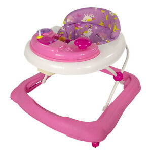 Red-Kite-Baby-Walker-Go-Round-Adjustable-Height-Jive-Electronic-Play-Tray-Pink