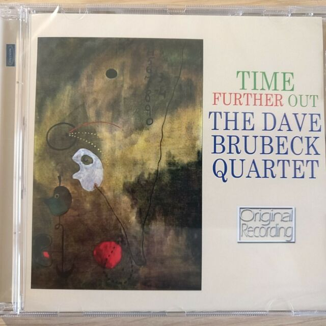 NEW - THE DAVE BRUBECK QUARTET - TIME FURTHER OUT  Jazz Blues Pop Music CD Album