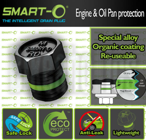 M12X1.5 17.9mm Smart-o Oil Drain plug