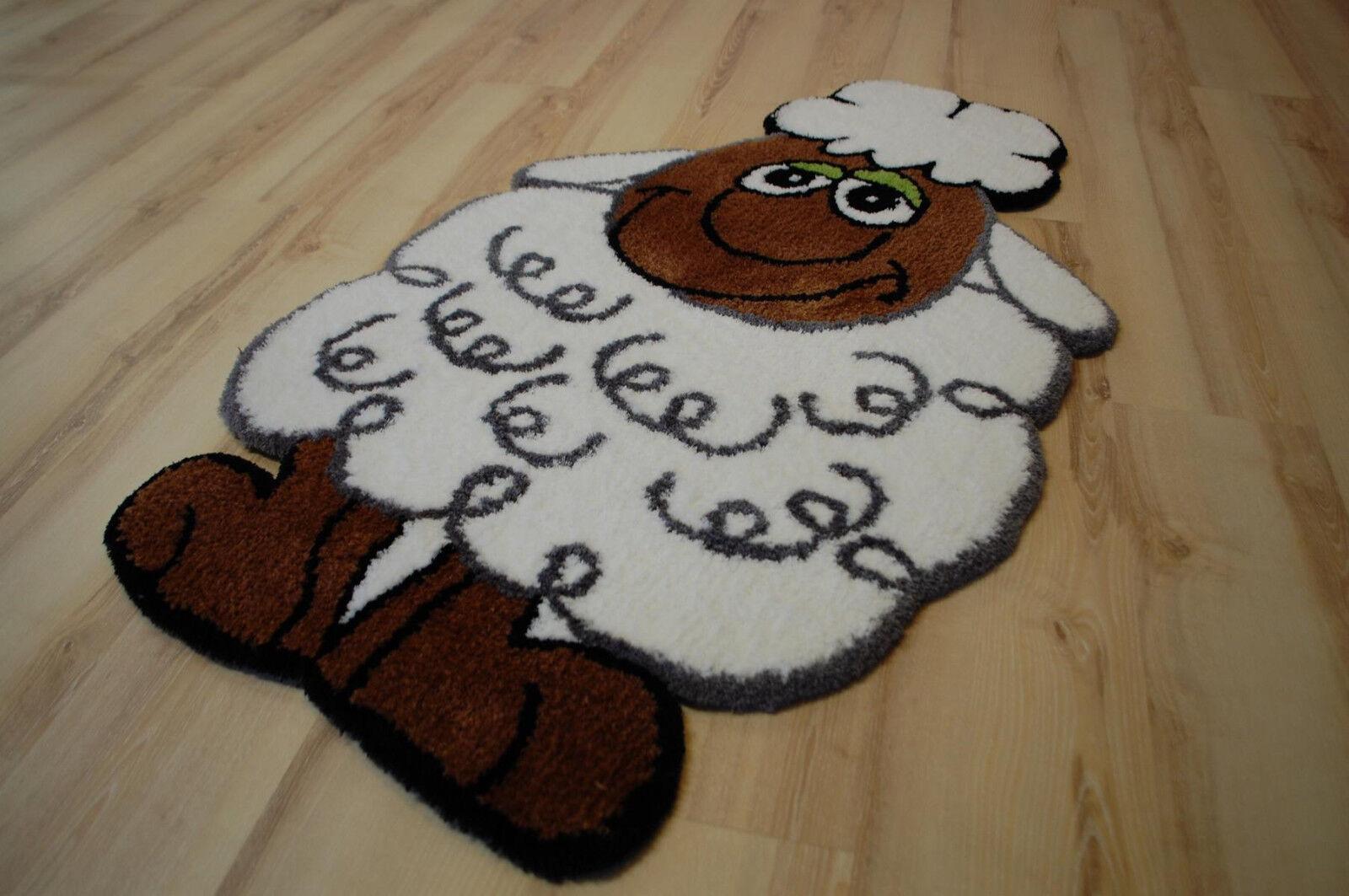 Bambini tappeto gioco tappeto pecora 75x130 cm bc-1050 Sheep