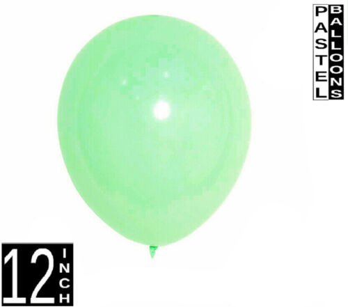 50 pcs Birthday Wedding Baby Shower Party Pastel Latex Balloons 12inch baloons