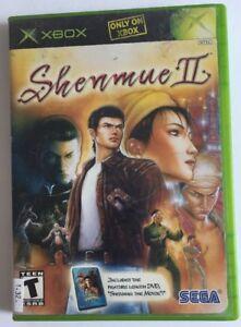 Shenmue-II-2-Microsoft-Xbox-2002-W-BONUS-MOVIE-DISC