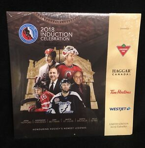 2018 2019 16 Month Hockey Hall Of Fame Induction Calendar Martin