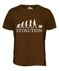 Chow-chow-evolution-of-man-t-shirt-homme-tee-top-dog-lover-cadeau-walker-walking