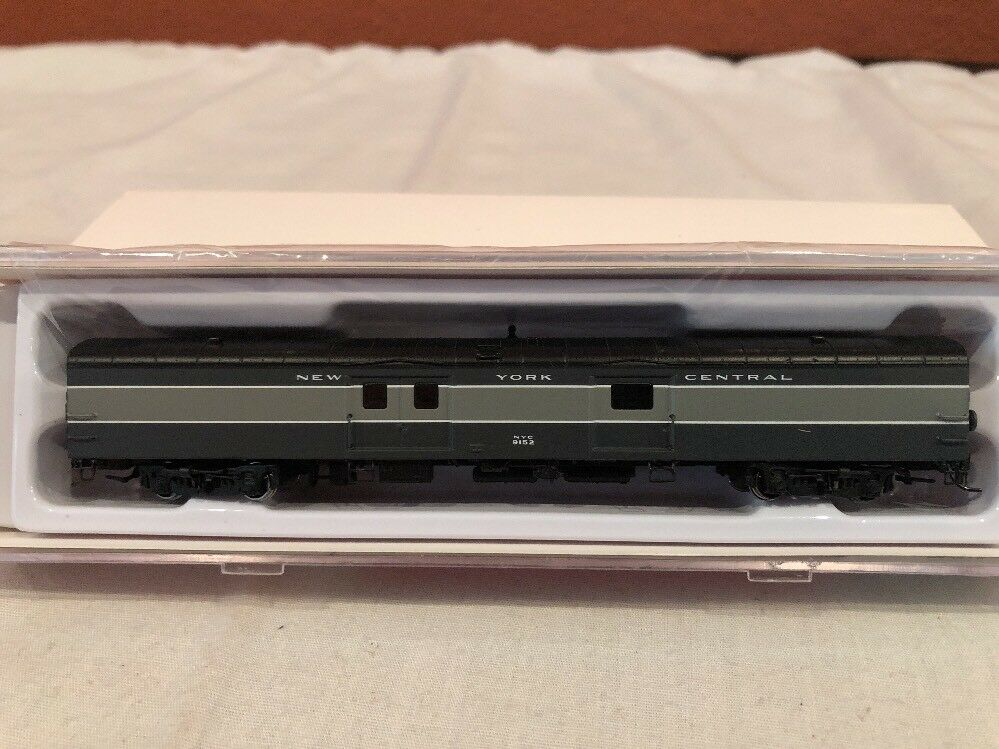 N SCALE RAPIDO TRAINS BAGGAGE EXPRESS NEW YORK CENTRAL