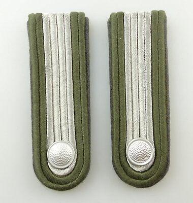 #e3674 1 Paar Ddr Schulterstücke Nva Luftverteidigung Fähnrich