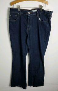 Levis-515-Womens-Jeans-Size-14-Blue-Boot-Cut-Stretch