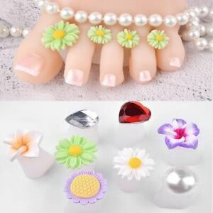 Crystal-Foot-Care-Diamond-Flower-Pedicure-Tool-Waterdrop-Toe-Silicone-Separator