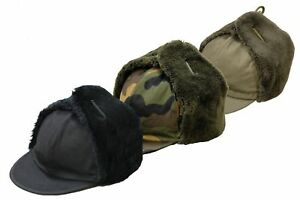 37cca43b1 Details about Brand New Military Army Trapper Hat Foreign Legion Cold  Weather Winter Cap