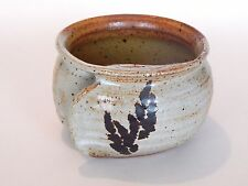 Unique Pottery Shaving Bowl Hand Warmer Mug Wheat Hand Made in Walla Walla, WA