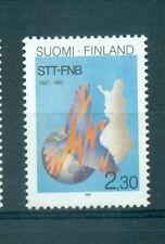 EMBLEMI - EMBLEM FINLAND 1987 STT-FNB