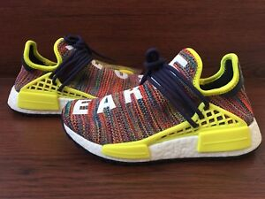 "on sale 53a27 0435b Details about Adidas x Pharrell William Human Race NMD TR ""MultiColor""  AC7360 Mens sz 5"
