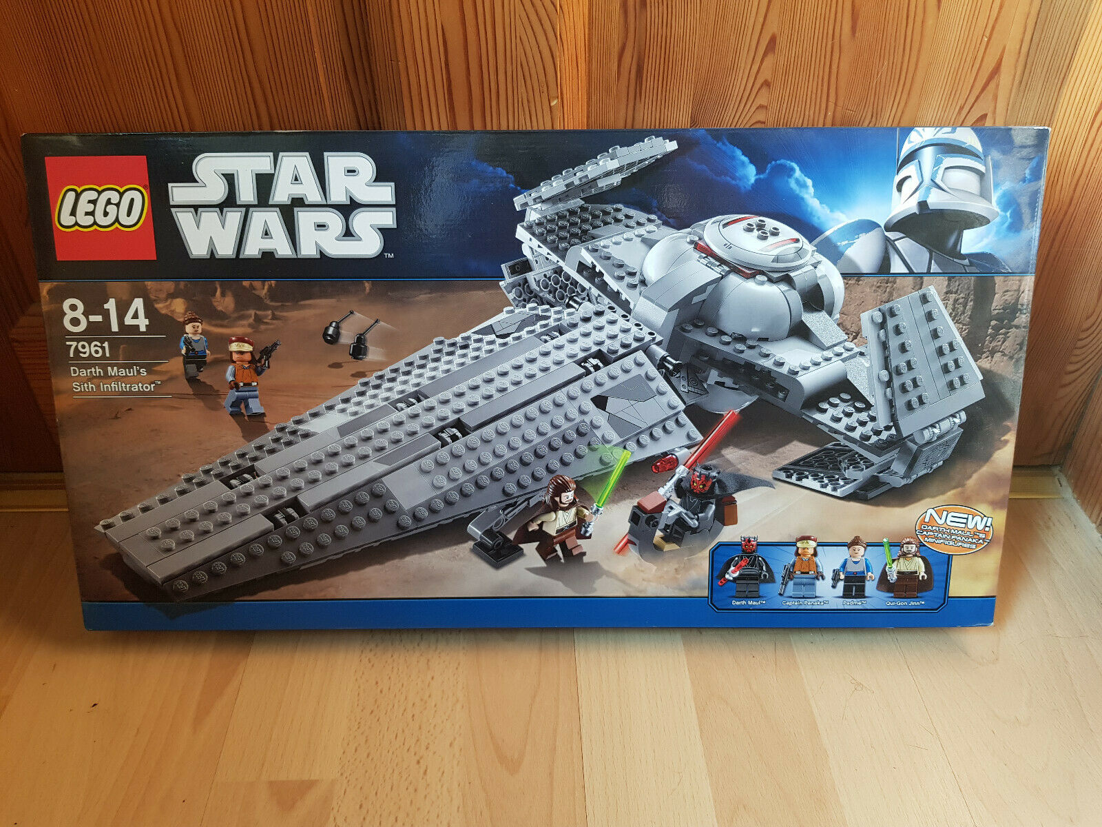 Lego Star Wars 7961  Darth Maul's Sith Infiltrator   NEU & ungeöffnet