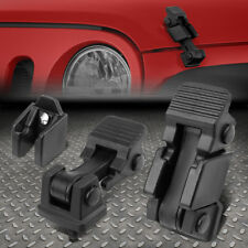 For 1997 2006 Jeep Wrangler Tj Hood Hold Down Catch Lock Latch 2pcssetbrackets Fits 1997 Jeep Wrangler
