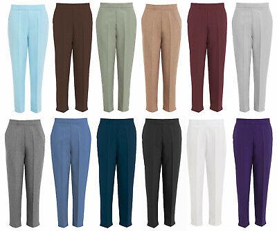 Ladies Trousers Work Smart Casual