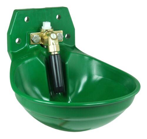 12p aquathan verde con 3//4 pulgadas de latón-válvula 100.0123 Suevia tränkebecken mod