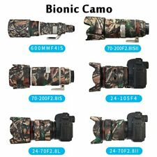 Canon 100 400mm IS USM MK1 Neoprene Lens protection camouflage cover Oak camo