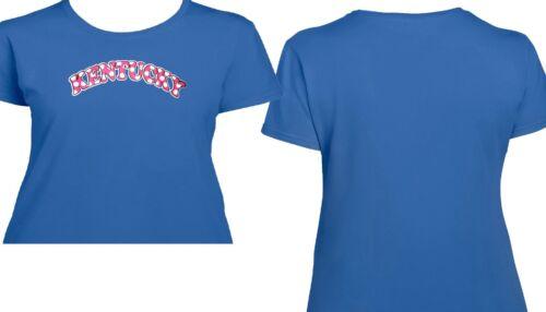 Fan 3063 Wildcats Kentucky Pink Womens T Shirt