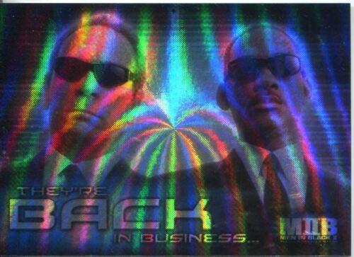 The Men In Black II Boxloader Foil Chase Card BL-1