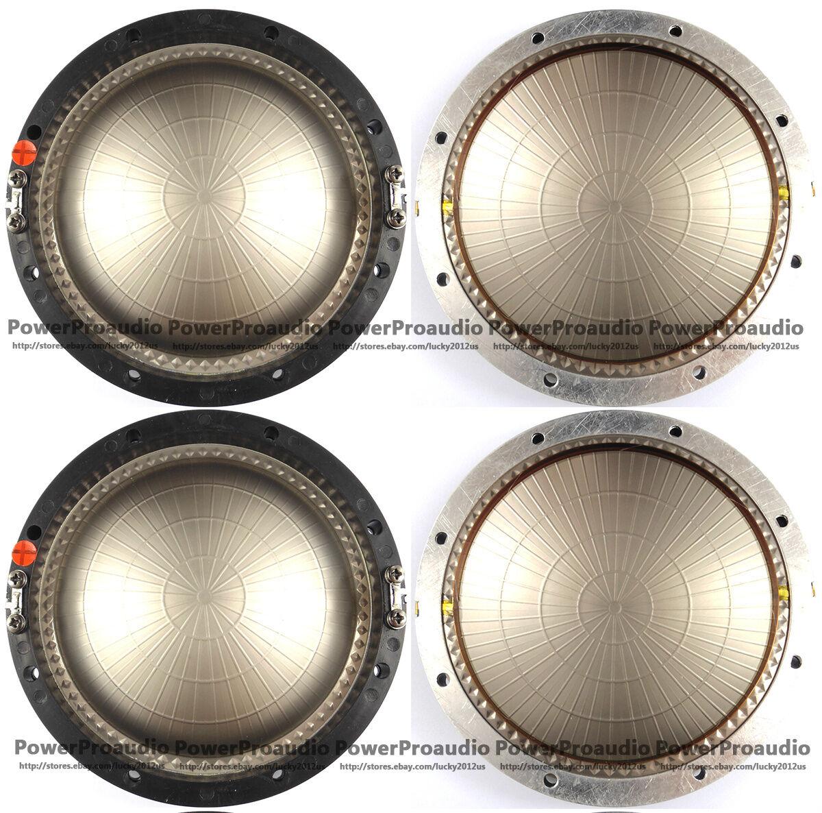 4pcs 4pcs 4pcs lot piezas de recambio De Diafragma Para Jbl 2440j, 2441j, 2445j, 375, 376 J 8 Ohm f45048