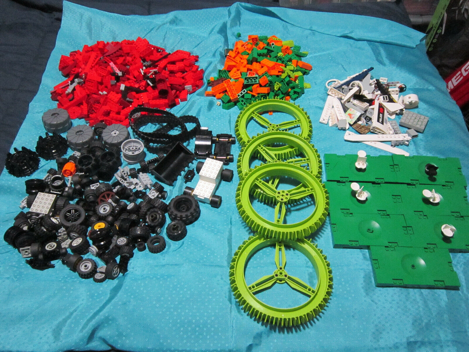 MISC LEGO Builders parts LOT of 3LBS 2OZ in parts