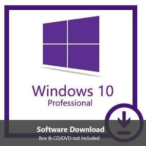 INSTANT WINDOWS 10 PROFESSIONAL PRO 32