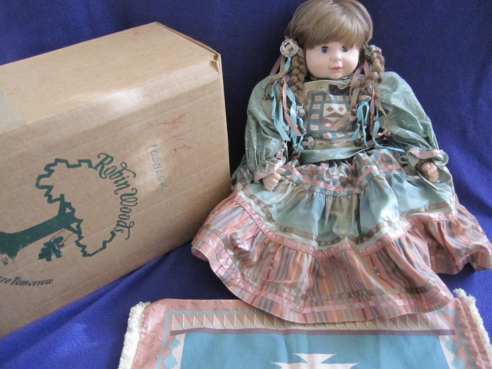 acquisti online Robin Woods 21 21 21  Native American bambola Indian Girl Yoki NWT NIB nuovo Rare 1985  prima i clienti