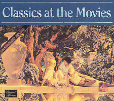 CLASSICS AT THE MOVIES  by Various Artists PLATOON, MOONSTRUCK 1 CD BRAND NEW