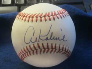 Al-Kaline-Detroit-Tigers-Baseball-HOFer-Autographed-MLB-Ball-PSA-COA