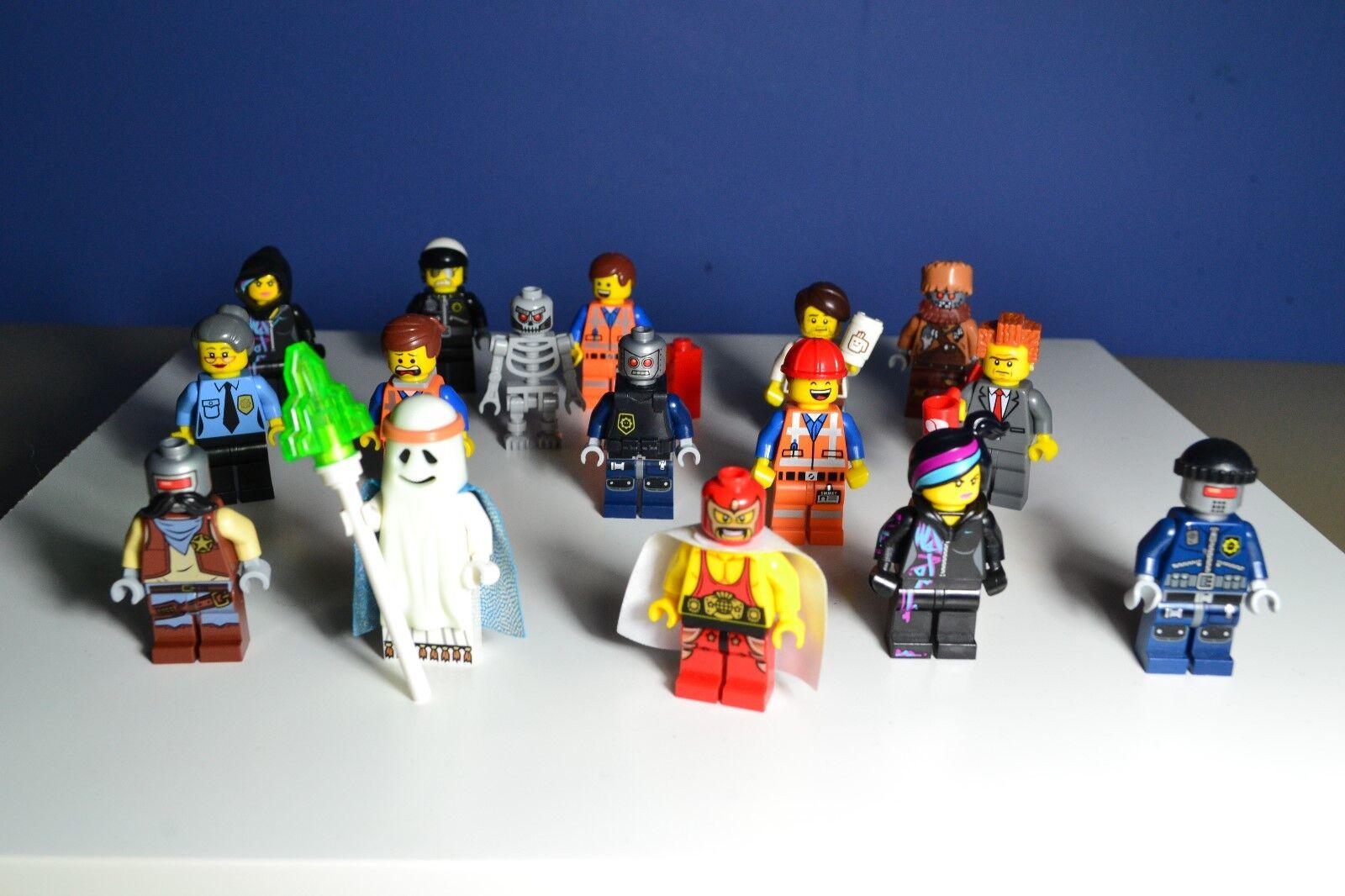 LEGO  Le film Lego  minifigures lot Emmet Bad Cop Benny