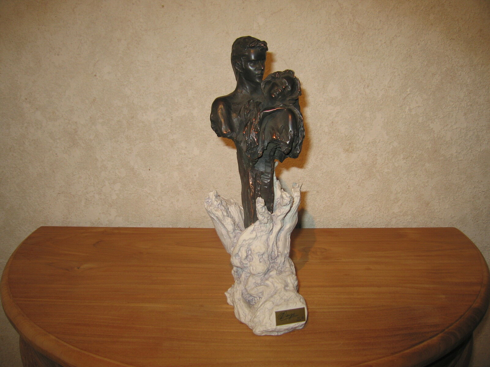 PAOR NEW Posture Figurine couple amoureux H.31cm