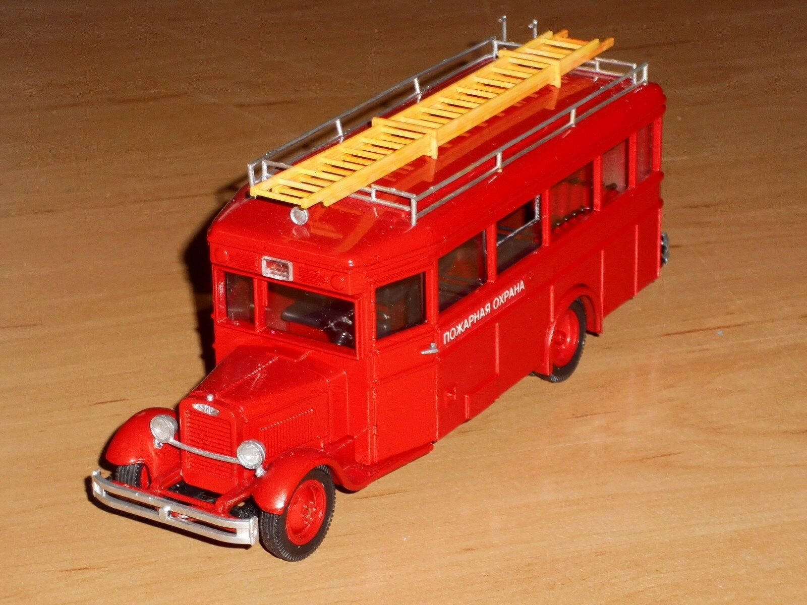 Bus zis-8, 1,43, russe à la main modèle, Fabricant  Mini Classic.