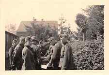Löhnungsappell deutsche Soldaten in Geilenkirchen