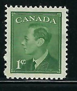 """CANADA - SCOTT 289 - VFNH - KING GEORGE VI - """"POSTES-POSTAGE"""" OMITTED."""